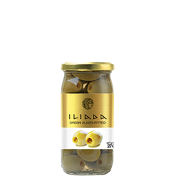 ILIADA Green Olives Pitted