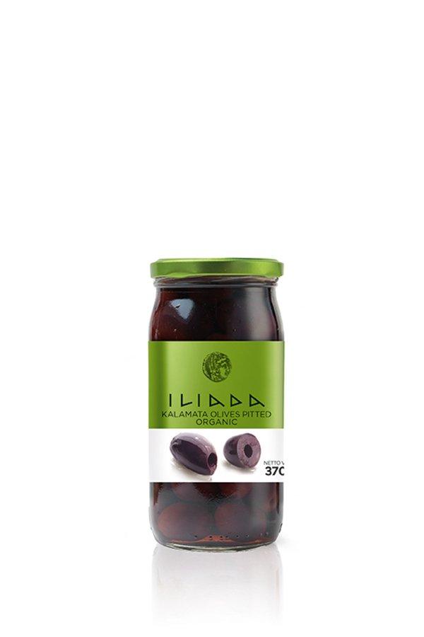 ILIADA Emerald Organic Kalamata Olives Pitted