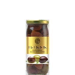 ILIADA Mixed Olives with Herbs