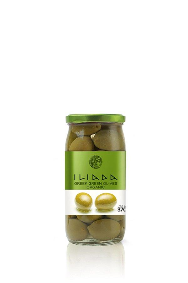 ILIADA Emerald Organic Green Olives