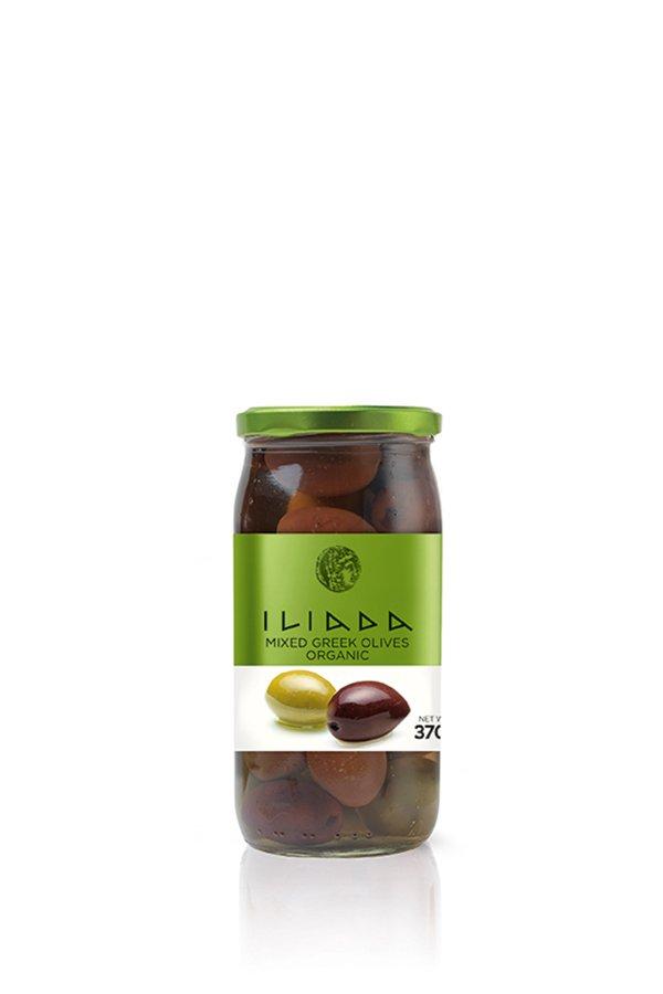 ILIADA Emerald Organic Mixed Olives