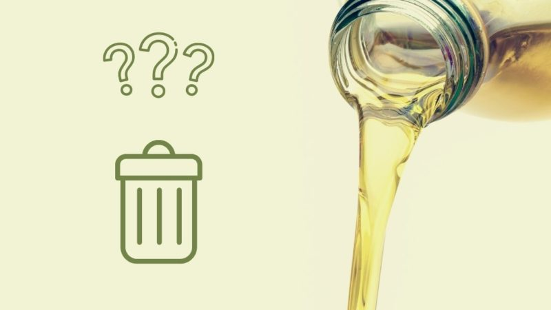 how to dispose of olive oil featured image